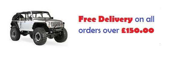 free delivery on all orders over £150